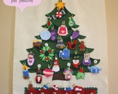 Christmas Tree Advent Calendar Pattern • 29 Ornaments • PATTERN • Instant Digital Download • Merry Christmas!