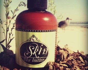 Vegan Body Lotion // TOBACCO // Thick like body butter // Available in an 8 oz bottle or jar // non-greasy // makes a great gift