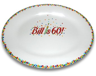 Confetti Birthday Celebration Signature Platter