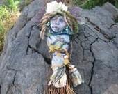 Goddess Art Doll, Spirit of Fertility ,Assemblage, OOAK Art Dolls
