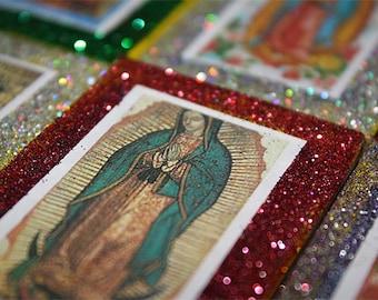 Mexican Wedding Favors Saints Virgen de Guadalupe Quinceanera Matchbox Chicklets Favor