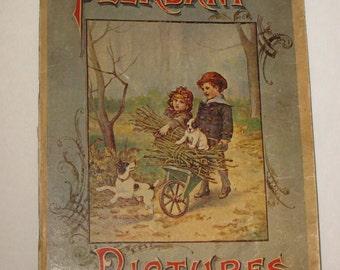 Vintage Childrens Book -- 1895 Children's Book