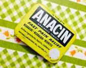 1pc VINTAGE ANACIN TIN Small Retro Box