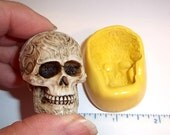 Skull Flexible Push Mold For Resin Polymer Candy Chocolate - Food Safe Silicone  M641