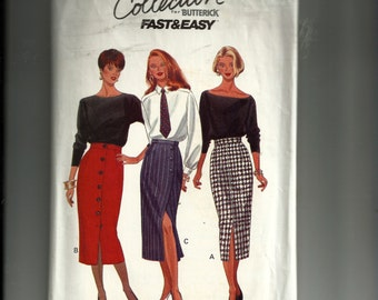 Butterick Misses' /Misses' Petite Skirt Pattern 6418