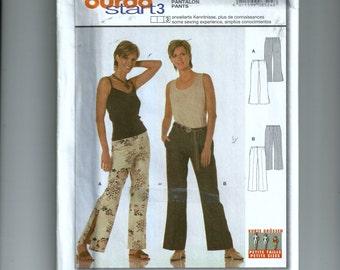 Burda Pants Pattern 8524