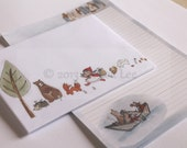 Letter Writing Stationery Set - Paperboat Journey