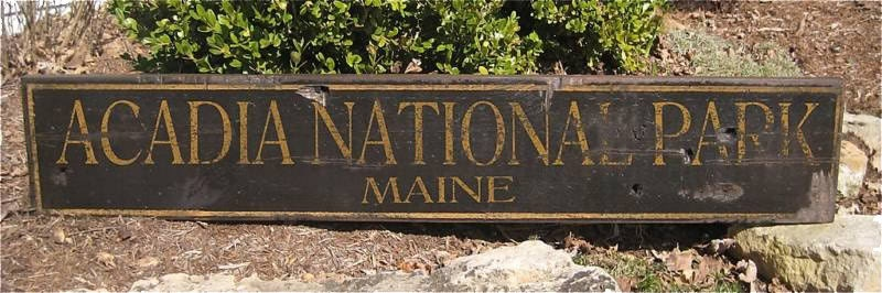 circular wooden signs custom national park wood sign rustic hand made vintage