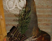 Primitive PATTERN Witch Hat Table Decoration HaLLoWeEn folk art