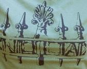 Jackson Square Fence Womens T-Shirt