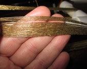 Gold Elastic Yarn (50 yds per skein)