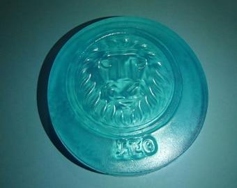Blue Leo Sign Glycerin Soap