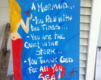 RhondaK original signs you are a mermaid Thanking God