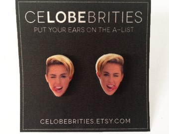 Miley's Tongue Earrings