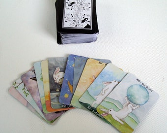 Mini Deck - The Rabbit Tarot - Art Card Deck