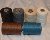 Thread, Waxed Linen, 3 ply, 50 grams
