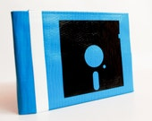 Floppy Disk Duct Tape Wallet - by jDUCT