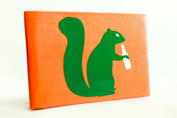 Drunken Squirrel Duct Tape Wallet - by jDUCT