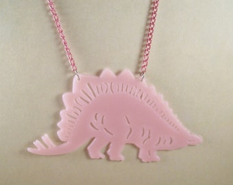 Glow-in-the-Dark Dinosaur Necklace