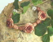 Rose Bead Set - Autumn  Apple Cider Blend