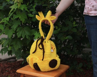 Giraffe Bingo/Craft Bag