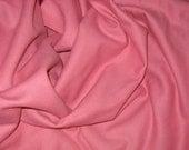 Vintage Salmon Pink Wool Flannel 3.25 yards