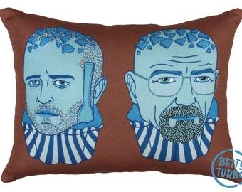 Blue Stuff Pillow