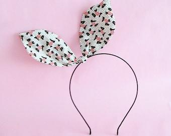 Dolly Bow Headband - Scottie