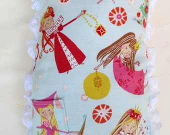 Tooth Fairy Pillow with Princesses
