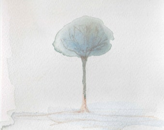"""Spring Tree 5"""" X 7"""""""