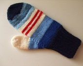 Hand Knit Mittens - Patriotic - for Ladies/Teens