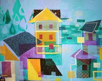 Sylvia Beach Hotel: original painting