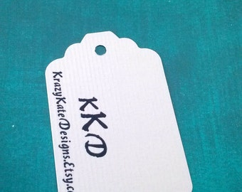 Personalized, 50 Business Tags, Baby Shower, Personalized Tags, Party favor, wedding tag