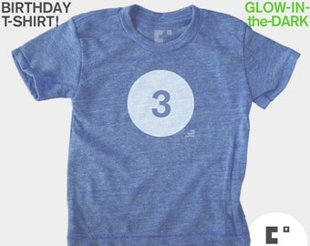 3rd Birthday Shirt - Boys & Girls Unisex TShirt