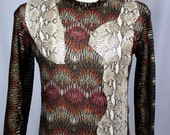 Men's Sweater, Leather, Ray Vincente - Sample Sale Item