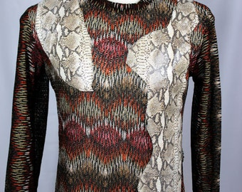 Men's Sweater, Leather, Ray Vincente