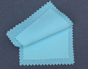 polishing cloth for silver, gold, copper, brass & platinum jewelry care cloth