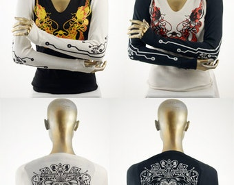 Nomex, CarbonX & Kevlar, Circurt Printed Shrug FR