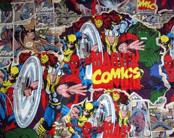 Marvel's Avengers Fabric Fat Quarter 16x21