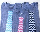 Pick 1 Boys men Tie Easter Shirt Short Sleeve T Shirt Kids- Chevron- Father's Day for New Dad - Wedding  Ring Bearer