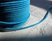 Matte Turquoise Blue Blue Elastic Cording 2 mm