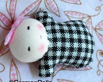 Waldorf doll, tiny baby, germandolls, bonbon baby