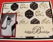 Elvis With Great Hair Birthday Card