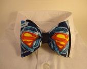 Superman Shield Bow Tie