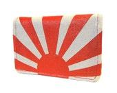 Rising Sun ) Slim Wallet