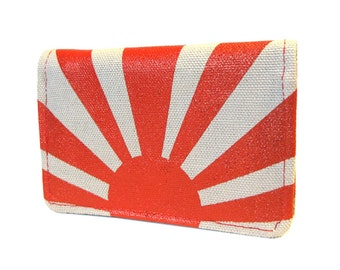 Rising Sun ) Slim Wallet