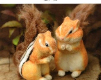 Realistic Needle Felt Small Animals - Japanese Craft Book