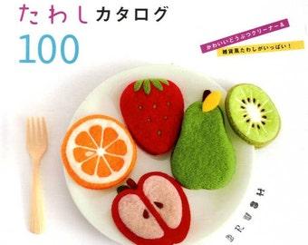 Acrylic Felt Kawaii Scrubbers 100 - Japanese Craft Book
