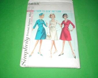 Vintage Simplicity Pattern 5655 Womens