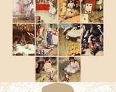 Bessie Pease Gutmann's Alice In Wonderland Image Download